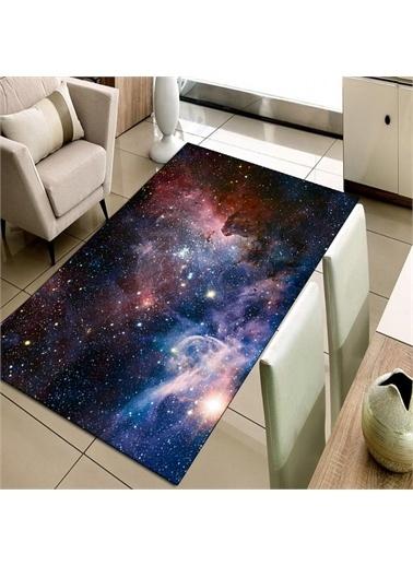 Halı Uzay Yıldızlar 3D Modern Dekoratif Salon Halıları 80X150Cm Renkli